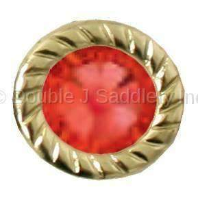 Red Swarovski Crystal - BCS06-40 - Double J Saddlery