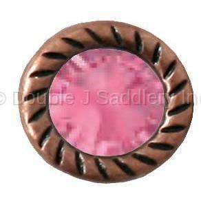 Rose Swarovski Crystal - ACS01-40 - Double J Saddlery