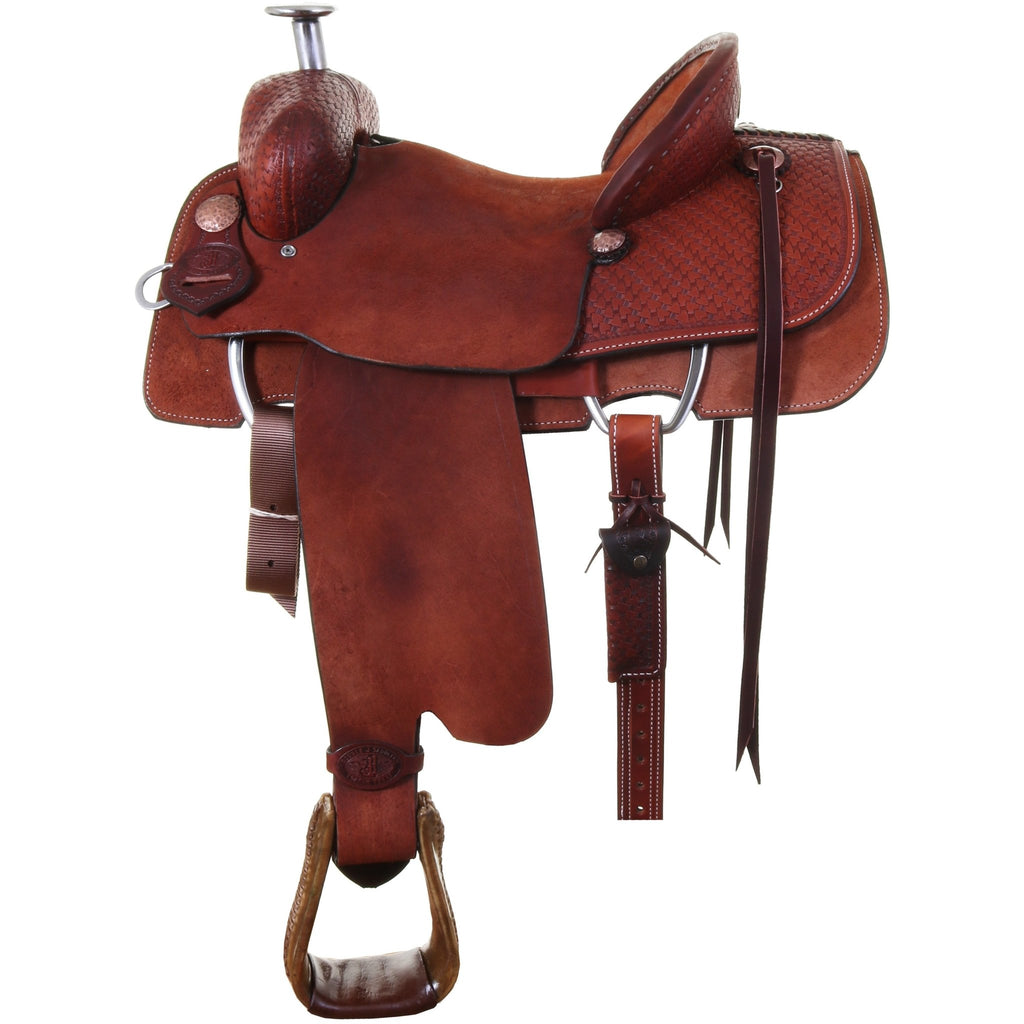 SRR00 - Ranch Roper Saddle - Double J Saddlery