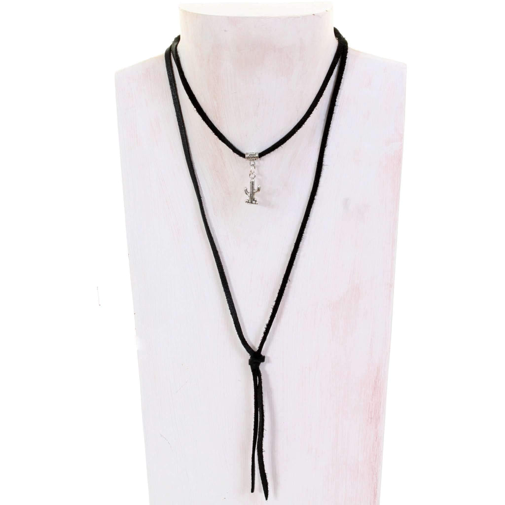 VN77 - Vestige Black Elk Necklace - Double J Saddlery