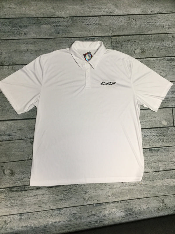 SWOSU White Dri-Fit Polo