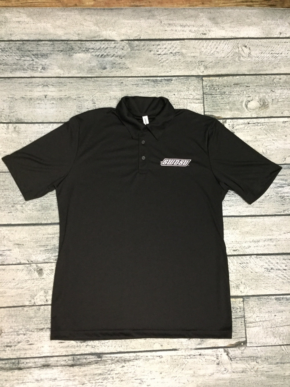 SWOSU Black Dri-Fit Polo