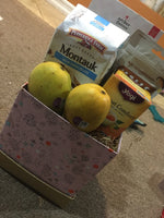 Fruit & gourmet snack basket