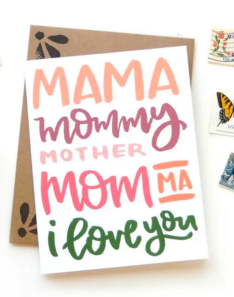 Mother's Day Mama Card