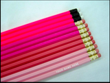 Set of 12 Personalized Pencils