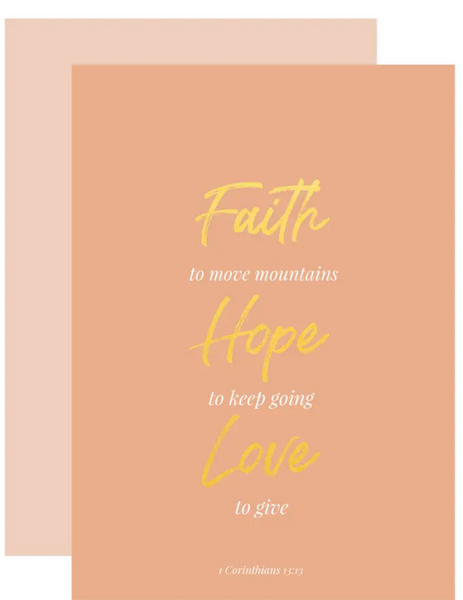 Faith To Move Greeting Card