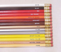 Engraved Wedding Pencils: Set of 50