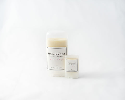 Clean Deodorant - Lemon & Rose duo