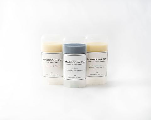 Clean Deodorant Trio - NEW!