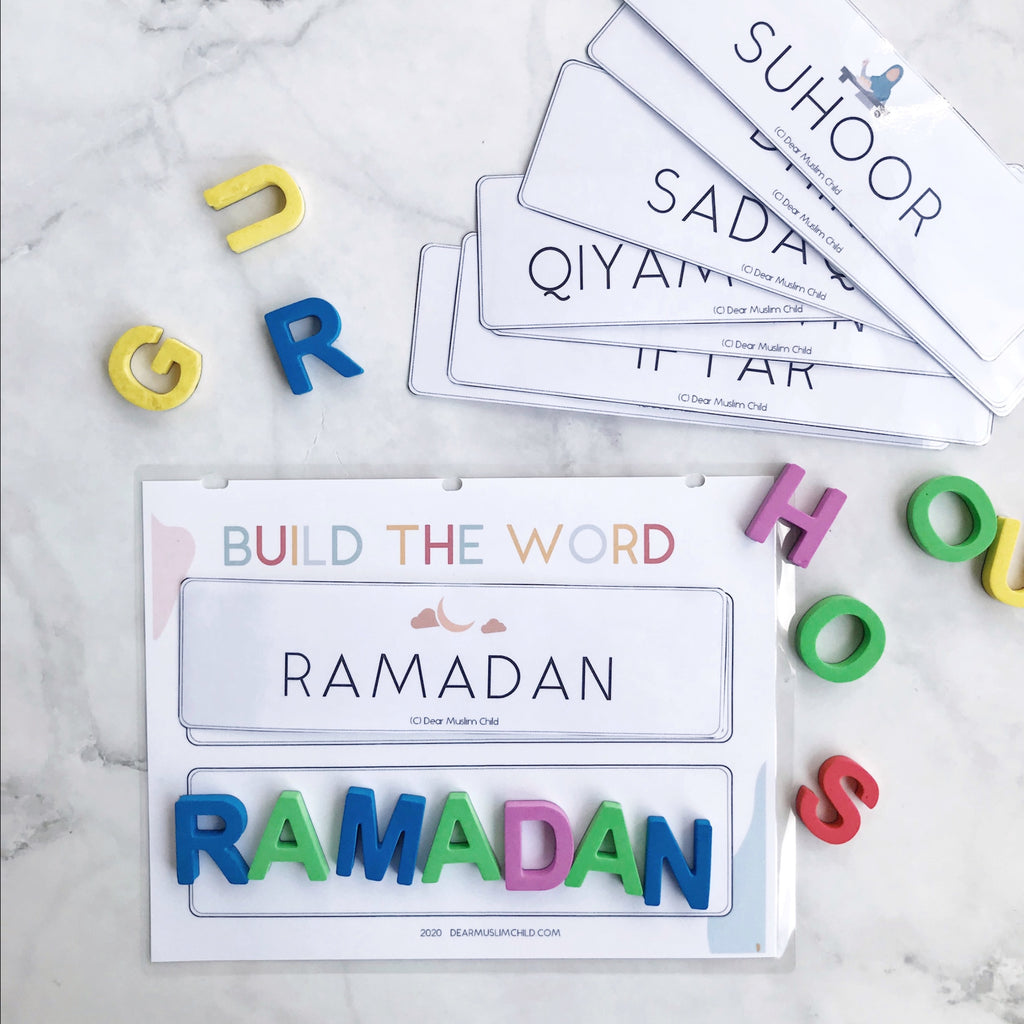 Free! Ramadan Activity Pack: 2 - 5 years (by Dear Muslim Child)