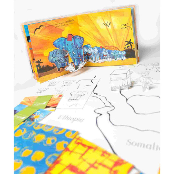 The Story of The Elephant, Surah Al-Feel – Quranic Pop-up & Play Book