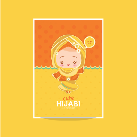 Cute Hijabi Mini Notebook
