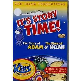 Zaky DVD: It's Story Time! The Story of Adam and The Story of Noah