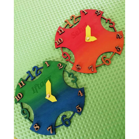 Sehri & Iftaar DIY Clocks