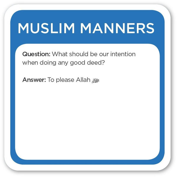 5Pillars Game - Trivia Burst: Muslim Manners Edition