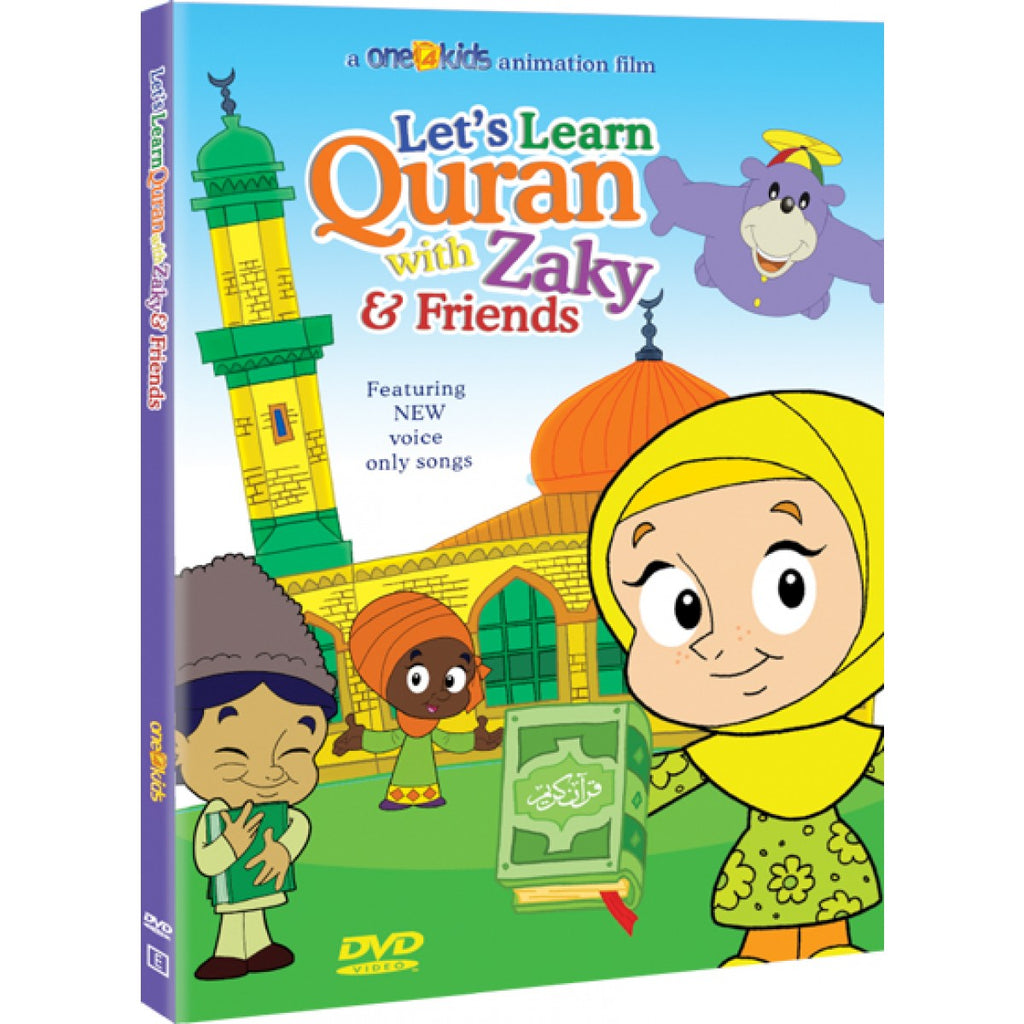Zaky DVD: Let's Learn Quran with Zaky & Friends - Part 1