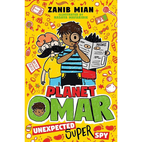 Planet Omar: Unexpected Super Spy (Book 2) - Launching May 2020