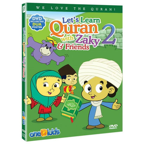 Zaky DVD: Let's Learn Quran with Zaky & Friends - Part 2