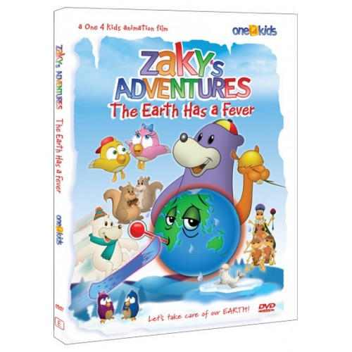 Zaky DVD: The Earth Has A Fever