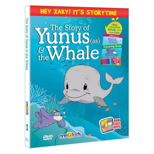 Zaky DVD: Storytime 3 - The Story of Prophet Yunus & The Whale