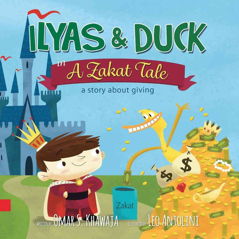 Ilyas & Duck in A Zakaat Tale: a story about giving