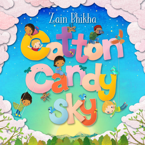 Cotton Candy Sky by Zain Bhikha (CD)