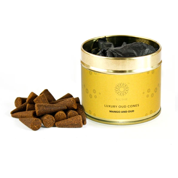 Luxury Oud Incense Cones - Mango and Oud