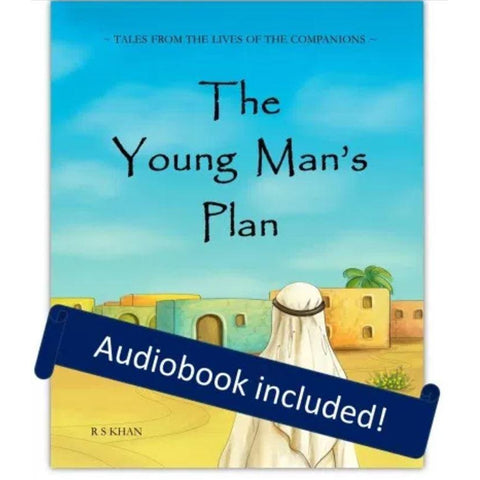 The Young Man's Plan - Storybook, incl. audiobook