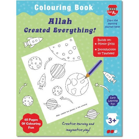 Allah Created Everything! Colouring Book