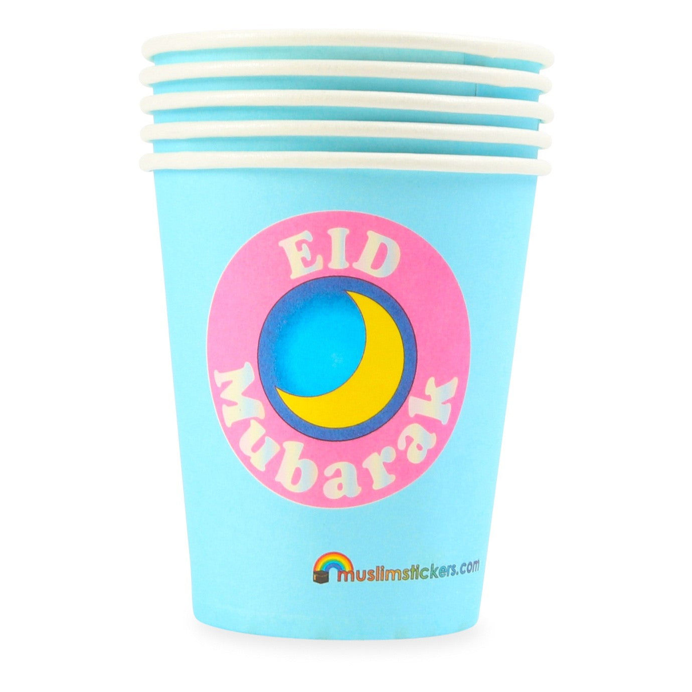 Eid Mubarak Party Cups