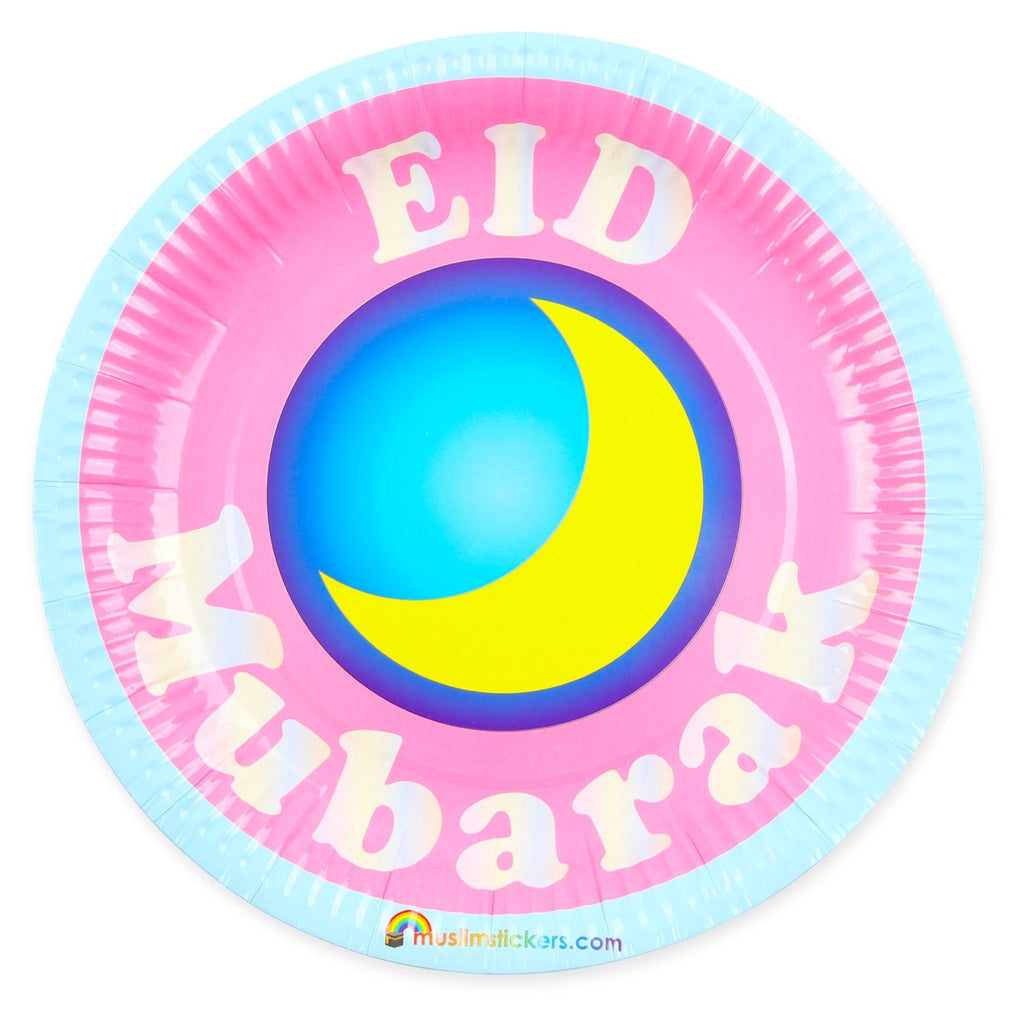 Eid Mubarak Party Plates