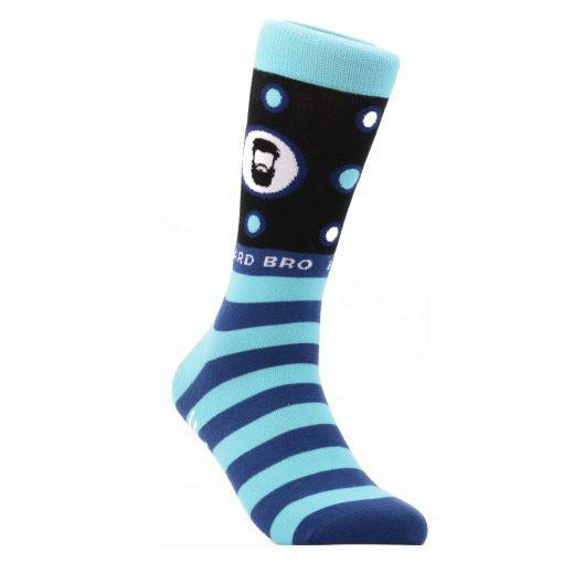 Halal Socks - Beard Bro Blue