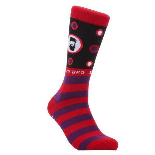 Halal Socks - Beard Bro Red
