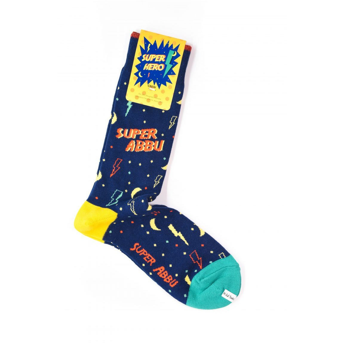 Halal Socks- Superhero Collection (Super Nana / Dada / Baba / Abbu)