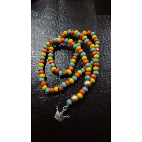 DIY Tasbeeh Kit (wooden beads with star charm)