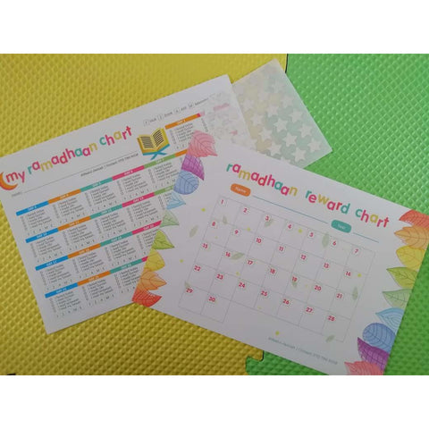 Ramadan Reward Chart - Set of Two
