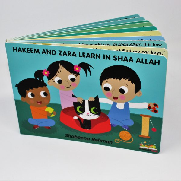 Hakeem and Zara Learn In Shaa Allah