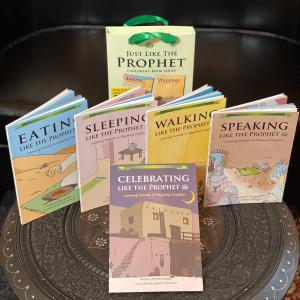 Just Like The Prophet SAW - Gift Set of 5 Books