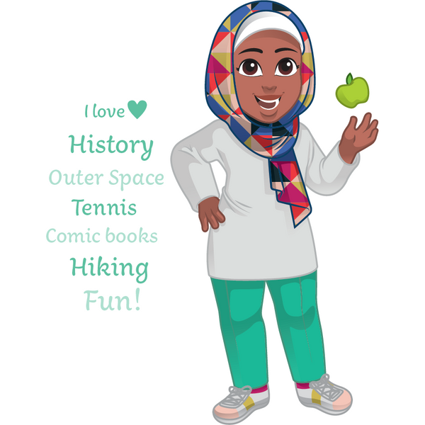 Salam Sisters: Karima - history buff, loves outer space, full of energy