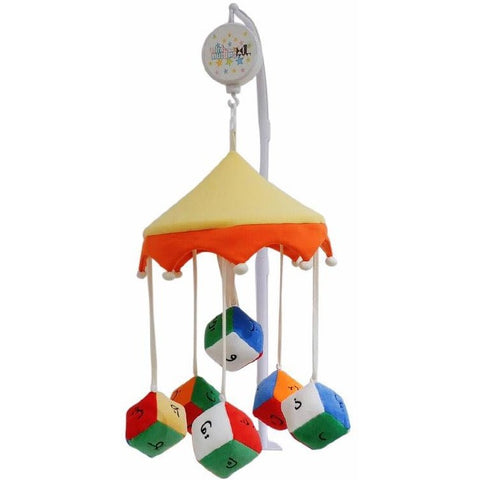 Arabic Alphabet Islamic Cot Mobile (plays Quran & Islamic lullabies)