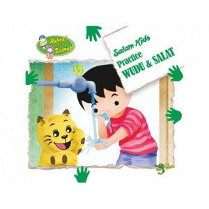 Ashraf and Zainab: Salam Kids Practice Wudu and Salat