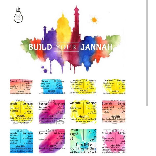 Build Your Jannah - 52-week Learning Activity