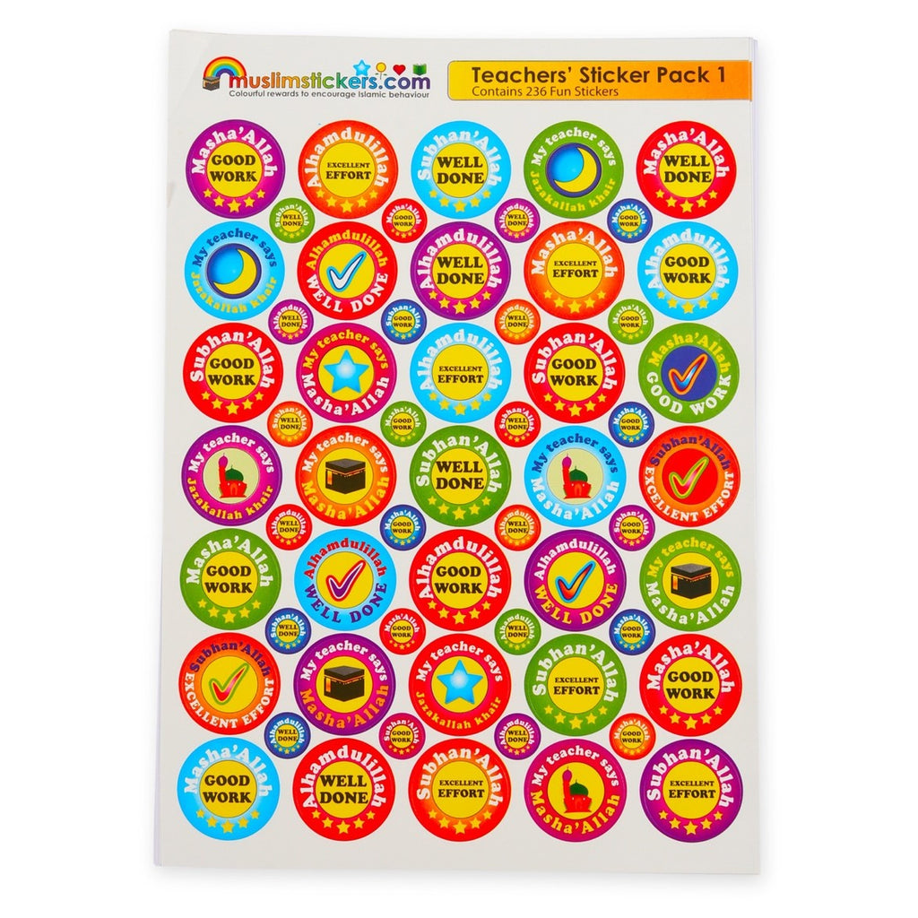 Teachers' Sticker Pack (236 Stickers)