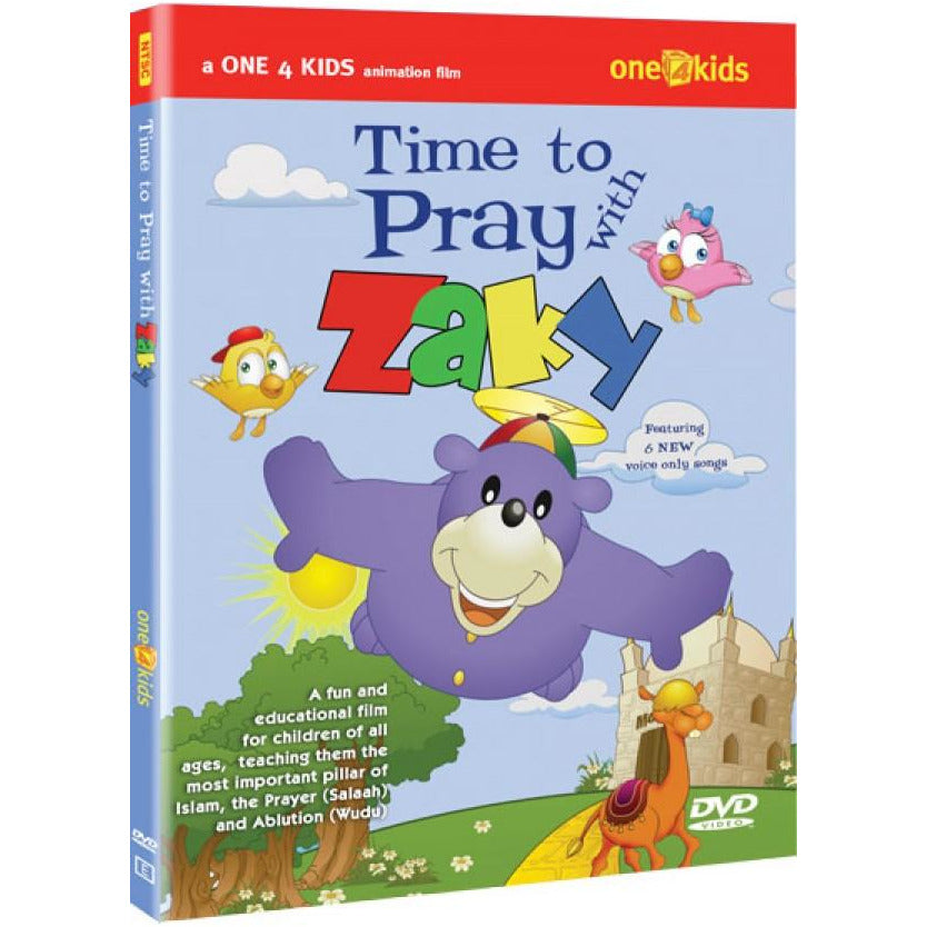 Zaky DVD: Time To Pray With Zaky