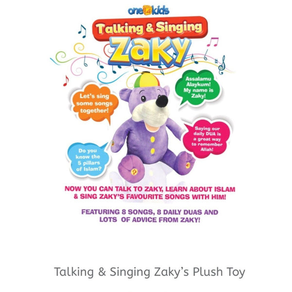 Talking Zaky Doll