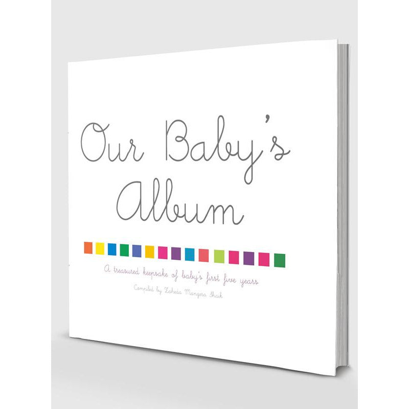 Our Baby's Album - A Muslim Baby's Milestone / Memory Book