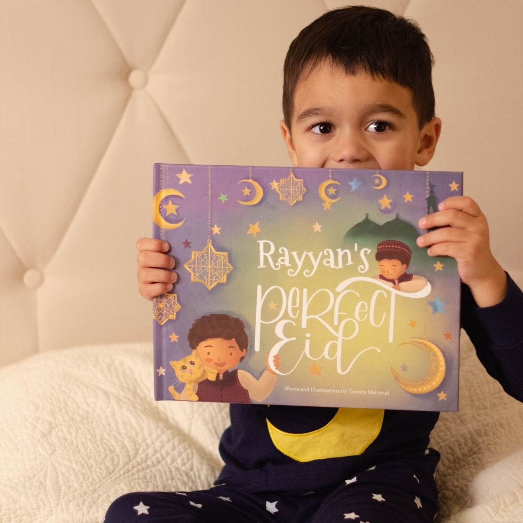 Personalised 'Perfect Eid' Book (Boys)