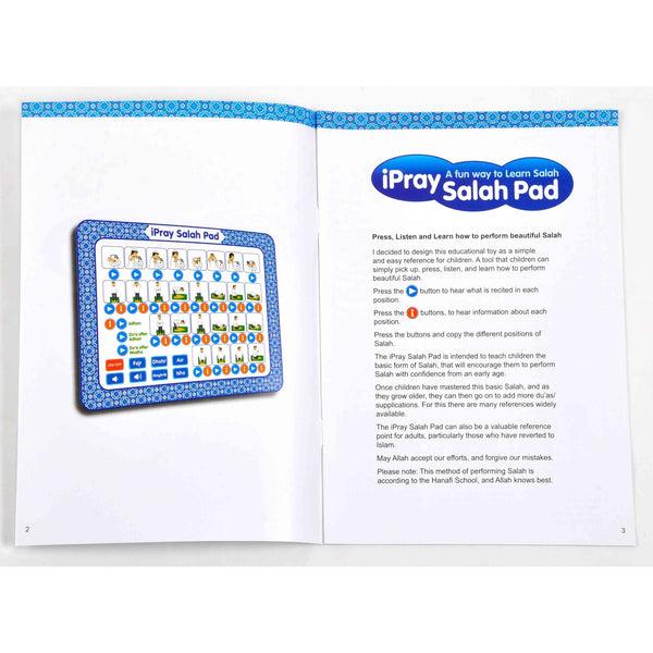 iPray Salah Pad for Boys