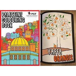 Palestine Colouring Book