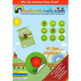 My Juz Amma Tree Chart (40 Stickers)